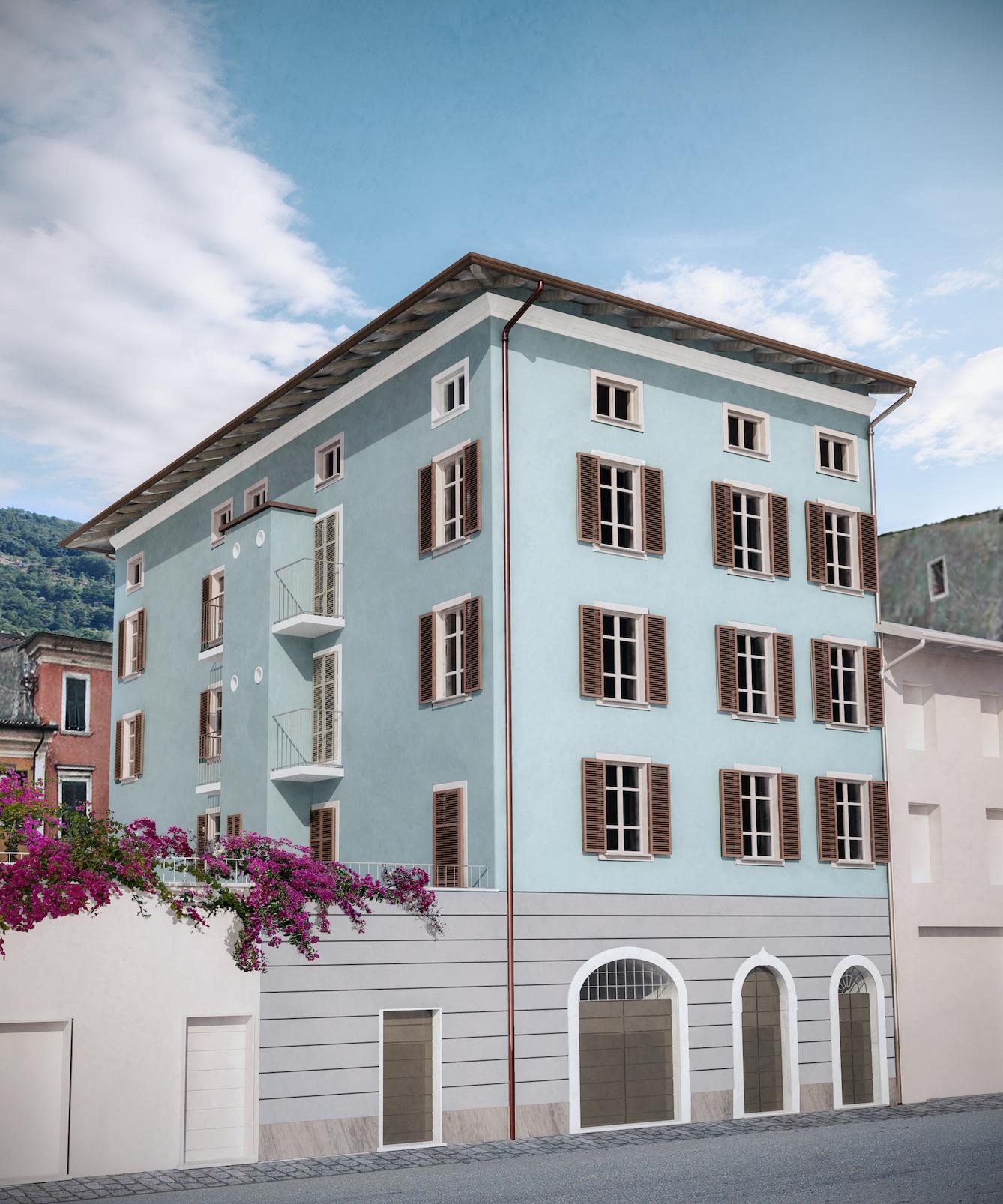 Pietrasanta – apartments in a renovated historical building