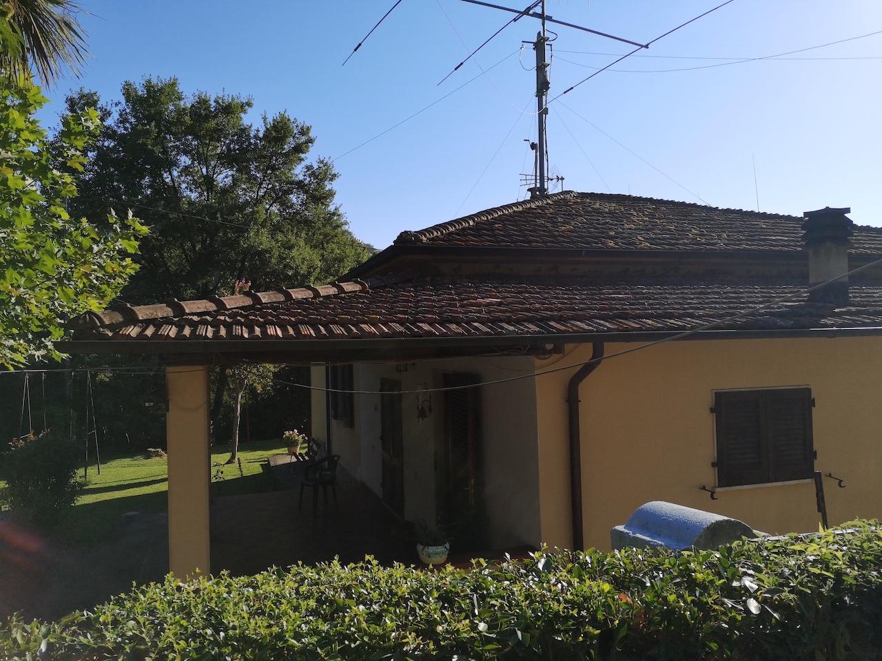 The villa in Val di Castello Carducci