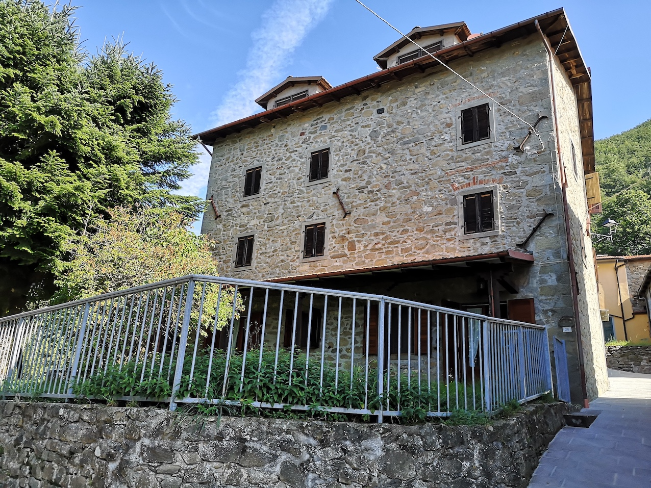 Nice medieval house in Garfagnana