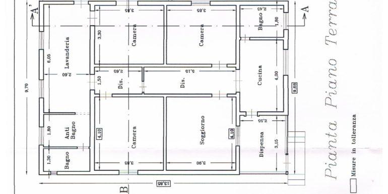 mappa casa